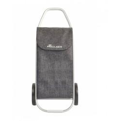 Poussette de marché - 2 roues - Com - Tweed Gris - ROLSER - Poussette de marché / Cabas / Panier - DE-319327