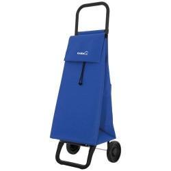 Chariot de marché - 2 roues - Basic - Bleu - GARMOL - Poussette de marché / Cabas / Panier - DE-508896