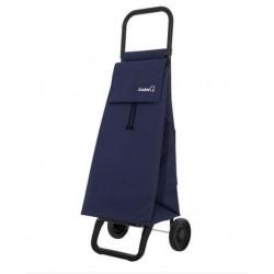 Chariot de marché - 2 roues - Basic - Bleu Marine - GARMOL - Poussette de marché / Cabas / Panier - DE-508904