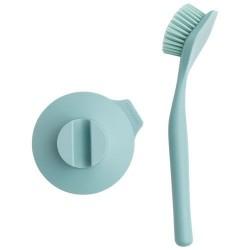 Brosse à vaisselle et ventouse - Sink Side - Menthe - BRABANTIA - Rangement et nettoyage - DE-329664