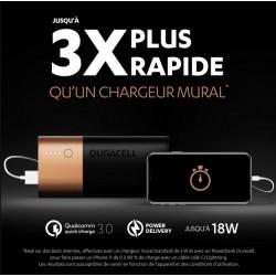 Chargeur portable par USB - Powerbank 6700 mAh - DURACELL - Chargeur et accumulateur - SI-534886