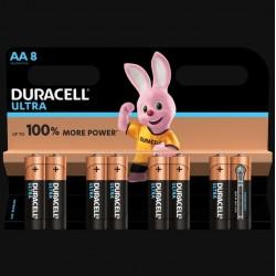 Piles Ultra alcaline - LR06 - AA - Lot de 8 - DURACELL - Pile classique - SI-534824