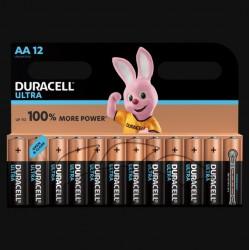 Piles Ultra alcaline - LR06 - AA - Lot de 12 - DURACELL - Pile classique - SI-534826