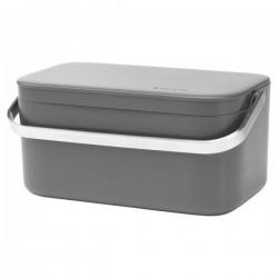 Poubelle 1.8 L portative - Sink Side - Anthracite - BRABANTIA - Poubelle - DE-329706