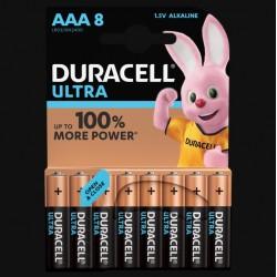 Piles Ultra alcaline - LR03 - AAA - Lot de 8 - DURACELL - Pile classique - SI-534825
