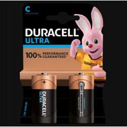 Piles Ultra alcaline - LR14 - C - Lot de 2 - DURACELL - Pile classique - SI-534828