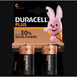 Piles Plus alcaline - LR14 - C - DURACELL - Pile classique - SI-534843