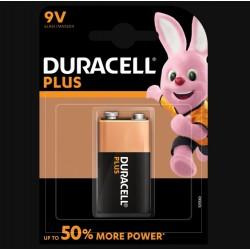 Pile Plus alcaline - 3LR61 - 9 Volts - DURACELL - Pile classique - SI-534848
