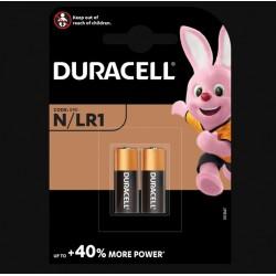 Piles spéciales alcalines - N / LR01 - 3 Volts - Lot de 2 - DURACELL - Pile classique - SI-534876