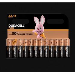 Piles Plus alcalines - LR06 - AA - Lot de 12 - DURACELL - Pile classique - SI-534838