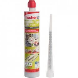 Résine de scellement chimique - Tiges filetées - Gris - 300 ml - FISCHER - Scellement chimique - SI-234016