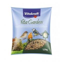 Mélange complet de graines - Oiseaux du jardin - 1.5 kg - VITAKRAFT - Oiseaux, volatiles - DE-521254