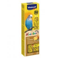 Baguette Oeuf / Graines de graminées x 2 - Perruche - Kräcker - VITAKRAFT - Oiseaux, volatiles - DE-511494