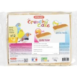 Biscuits x 12 - Crunchy Cake - Oiseaux - ZOLUX - Oiseaux, volatiles - BR-116575