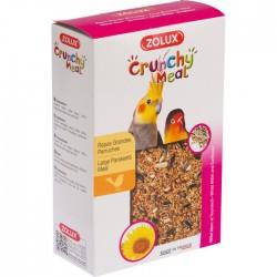 Graines - Crunchy Meal - Grande Perruche - 800 gr - ZOLUX - Oiseaux, volatiles - BR-116107