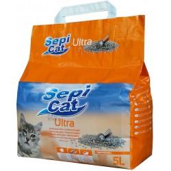 Litière ultra agglomérante - 5 L - SEPI CAT - Chats - BR-467412