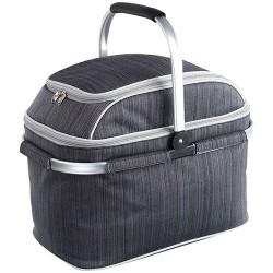 Panier pique-nique isotherme - 29 accessoires / 4 personnes - Gris - BE NOMAD - Boite, sac - DE-392655