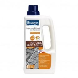 Imperméabilisant eau et graisses - Toitures, Murs et sols - 1 L - STARWAX -  - DE-265398