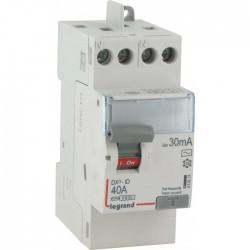 Interrupteur différentiel bipolaire - Type AC 30mA arrivée haut/départ haut 40 A - LEGRAND - Interrupteur différentiel - BR-5...