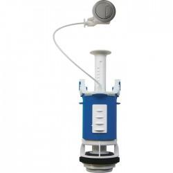 Soupape de WC 365 à câble - Poussoir double débit - SIDER - Mécanisme de chasse - SI-365011