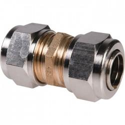 Manchon à serrage - Rapido - Femelle - Laiton - 12 mm - Raccords sans soudure - SI-385421