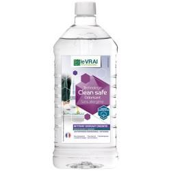 Nettoyant multi surfaces / dépolluant air - Clean Safe - Concentré Odorisant 1 L - LE VRAI PROFESSIONNEL - Produits multi-usa...
