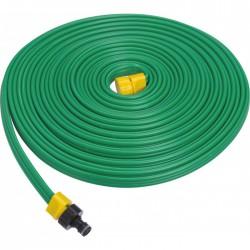 Tuyau souple, perforé, équipé pour micro-irrigation - 15 m - CAP VERT - Tuyaux pour micro-irrigation - BR-508557