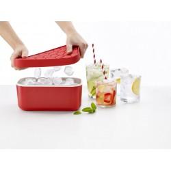 Bac à glaçons et réserve - Ice Box - Rouge - LEKUE - Pour le froid - DE-532144