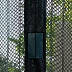 Rideau moustiquaire - Fermeture aimants - 220 x 100 - Noir - MOREL - Rideaux - DE-520593