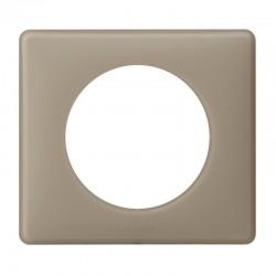 Plaque Céliane - 1 poste - Grès - Poudré - LEGRAND - Plaques d'interrupteur - SI-416061