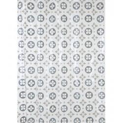 Rideau de douche - Ciment - 180 x 200 - ARVIX - Accessoires salle de bain - BR-608393