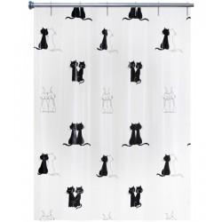 Rideau de douche - Chats - 180 x 200 - ARVIX - Accessoires salle de bain - BR-538612