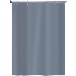 Rideau de douche en Peva - Gris Magma - 140 x 180 - ARVIX - Accessoires salle de bain - BR-703394