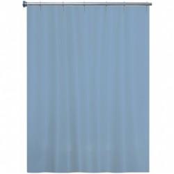 Rideau de douche - Bleu Gris - 180 x 200 - ARVIX - Accessoires salle de bain - BR-538611