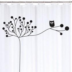 Rideau de douche - Chouette - 180 x 200 - RAYEN - Accessoires salle de bain - DE-316695
