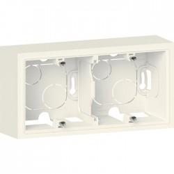 Cadre saillie - 2 postes - Dooxie - Blanc - LEGRAND - Cadre saillie - SI-211640
