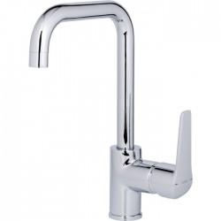 Mitigeur lavabo - Bec haut - Avec vidage - Pyla - SIDER - Robinets / Mitigeurs - SI-133242