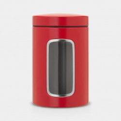 Boite avec fenêtre - 1.4 L - Rouge passion - BRABANTIA - Conservation / Boite / Emballage - DE-704981