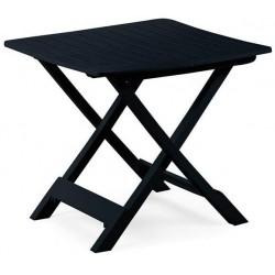 Table pliante - Tevere - Anthracite - 79 x 72 x 70 cm - Accessoires pique-nique / camping / détente - DE-363250