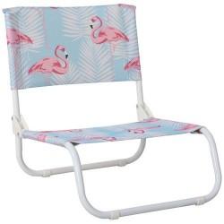 Chaise basse pliante - Copacabana - IMAGIN' - Accessoires pique-nique / camping / détente - DE-565450