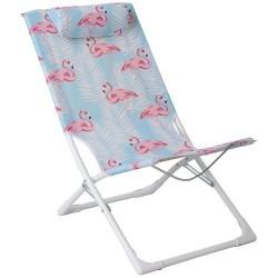 Fauteuil de plage pliable - Copacabana - IMAGIN' - Accessoires pique-nique / camping / détente - DE-563834