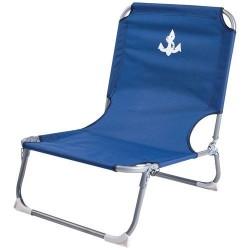 Chaise basse pliante - Bleu - IMAGIN' - Accessoires pique-nique / camping / détente - DE-562174