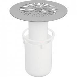 Grille de vidage avec tasse - 84 mm - NICOLL - Bouchons / clapets et grilles de vidage - SI-382954