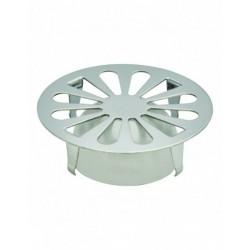 Grille marguerite à cloche pour bonde de sol - Inox - 90 mm - VALENTIN - Bouchons / clapets et grilles de vidage - SI-384252