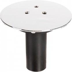 Capot de bonde pour receveur de douche - Chromé - 60 mm - VALENTIN - Bouchons / clapets et grilles de vidage - SI-149900