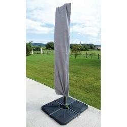 Housse pour parasol déporté - Gris Mastic - JARDILINE - Protection mobilier jardin - DE-603910