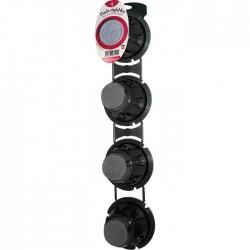 Lot de 4 pieds réglables Pro pour receveur de douche - Noir - DUBOURGEL - Receveur de douche - SI-530841
