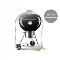 Housse pour barbecue rond - Gris Mastic - JARDILINE - Protection mobilier jardin - DE-603886