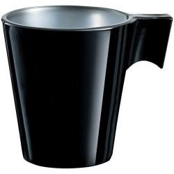 Tasse x 12 - Flashy Colors - Noir - 8 cl - LUMINARC - Tasse / Mug - DE-264796
