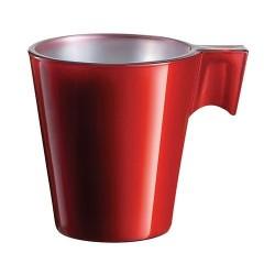 Tasse x 12 - Flashy Colors - Rouge - 8 cl - LUMINARC - Tasse / Mug - DE-264804